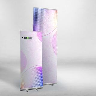 Roll up Standard plus tall 120x300 cm