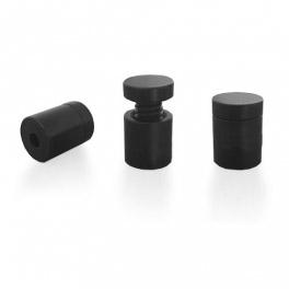 Distanční šroub 13x13 mm (černý hliník)