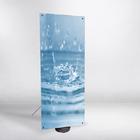 Outdoor X-banner se zátěžovou základnou 80 x 180 cm