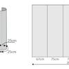 Příprava grafiky POP UP stěny 3x3 pole rovná